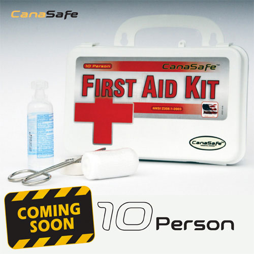 10 Person First Aid Kit (89 Pieces)