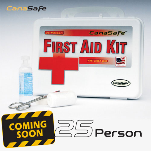 25 Person First Aid Kit (144 Pieces)