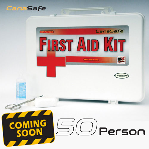 50 Person First Aid Kit (196 Pieces)